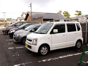 新潟市中央区 つばさ整骨院・整体院の駐車場は9台完備